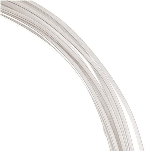 1 Ounce. Sterling Silver Wire 18 Gauge Round-Dead Soft 12 Ft.