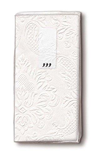 12x10 Taschentücher geprägt Moments ornaments perlmutt