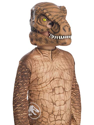 Rubie's Jurassic World: Fallen Kingdom Child's Tyrannosaurus Rex Movable Jaw Mask -