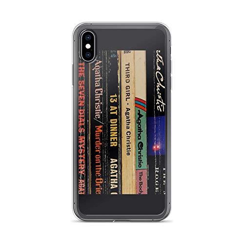iPhone Xs Max Case Clear Anti-Scratch Broken spines, spines Cover Phone Cases for iPhone Xs Max, Crystal Clear