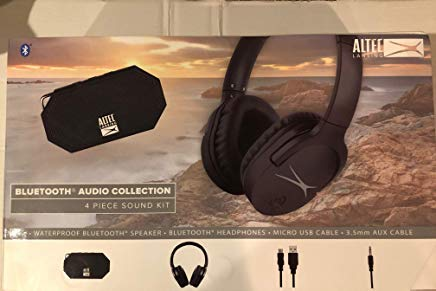 Altec Lansing Bluetooth Audio Collection 4-Piece Sound Kit IMW9000 - Black ()