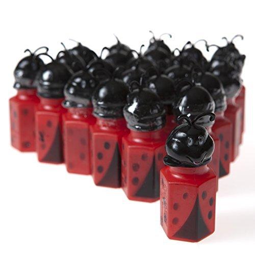 12 Ladybug Bubble Bottles ()