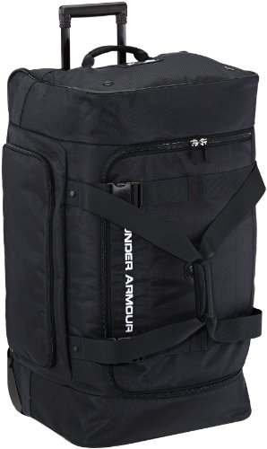 Under Armour Trolley Road Game LG Wheeled Duffle Bag, Schwarz, 65 x 41 x 34 cm, 79 Liter, 1235095-001