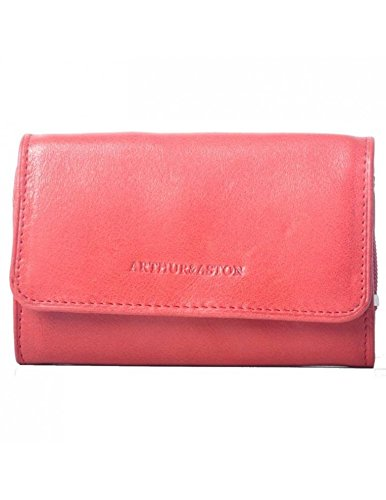 Arthur Aston & & Arthur Aston monedero, color rojo: Amazon ...