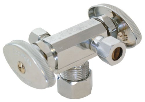 Eastman 04352LF Dual Outlet/Dual Handle Stop Valve
