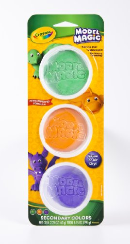 (Crayola Model Magic, Secondary Colors, Alternative to Modeling Clay)