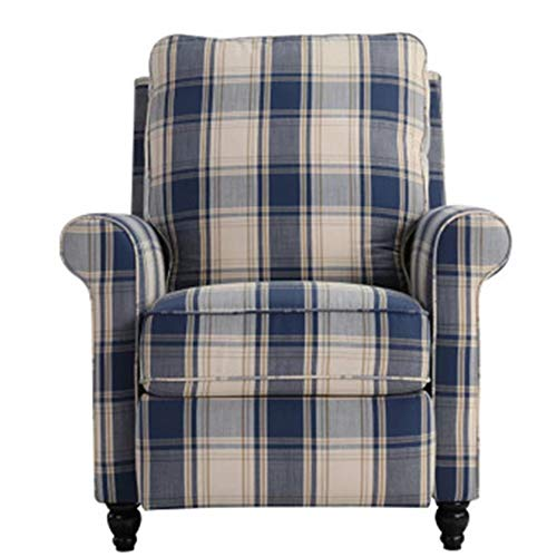 YZMKD Single Sofa Comfy, Power Lift Recliner Chair, Ergonomic Backrest and Seat Height, Massage Rocker Recliner, Recliner Seat Home Theater Seating,Plaid (Rattan Wicker And Between Furniture Difference)