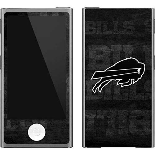 Skinit NFL Buffalo Bills iPod Nano (7th Gen&2012) Skin - Buffalo Bills Black & White Design - Ultra Thin, Lightweight Vinyl Decal Protection