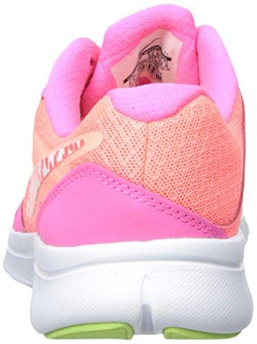 Flickor Nike Flex Erfarenhet 3 Löparsko (gs) Lava Glöd / Rosa Pow / Vätske Kalk / Vit