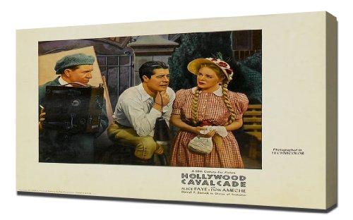 Poster - Hollywood Cavalcade 14 - Canvas Art Print ()