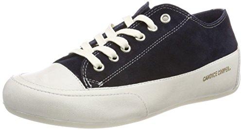 Donna Basse Candice Blu navy Sneaker Camoscio Cooper Iwqfw7