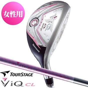 【レディース】ブリヂストン ゴルフ ツアーステージ 10 V-iQ CL クリスタルピンク ユーティリティ VT-40u カーボンシャフト U4/L