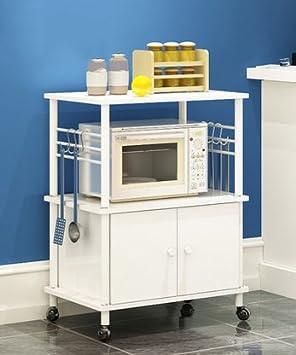 Muebles de cocina Los estantes de la cocina de microondas ...