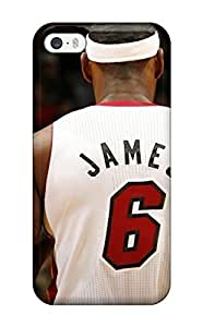 nba lebron james miami heat mvp basketball NBA Sports & Colleges colorful Case For Htc One M9 Cover