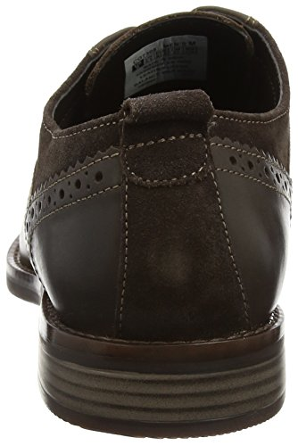 Rockport Herren Wynstin Plain Toe Derby Schnürhalbschuhe Braun (Dark Brown)