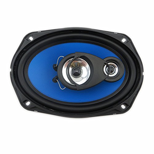 Eaglerich 1 Pair 6x9 inch 2-way Coaxial Car Speakers Auto Automotivo Car Audio Sound Speaker 6 x 9 inch by Eaglerich