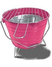 ACTIVA Grillhink grillhink eldkorg picknick party BBQ grill rosa