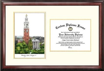 Amazon.com : University of Vermont Scholar Diploma Frame : Sports ...