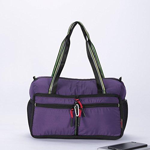 Foldable Travel Bag Duffle Bag Organizer Storage Lightweight Sports Gym Tote Bag by Alpaca Go (Image #7)