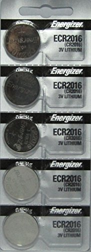CR2016 Energizer Lithium Batteries (2 packs of 5)