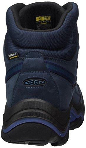 Keen Galleo Mid WP, Stivali da Escursionismo Alti Donna Nero (Oceania/Night Oceania/Night)