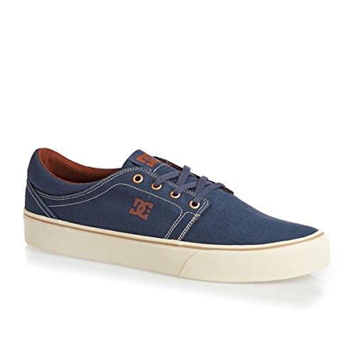 Uomo TX Shoes DC Indigo Trase Basse Vintage OFI6aw