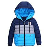 MODOQO Winter Clothes for Baby Boy Long Sleeve Zipper Hoodies Jacket Warm Coat