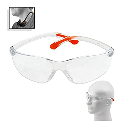 a340f2fbe55 Designer Style ANZI Z87.1 Industrial Safety Glasses - Wrap Around ...