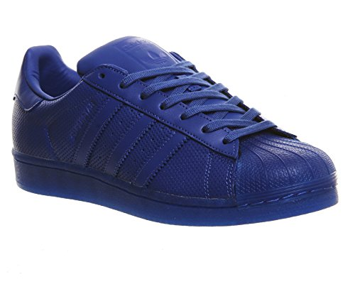 Baskets Bleu Mixte Superstar Enfant Basses Adidas R5PqY