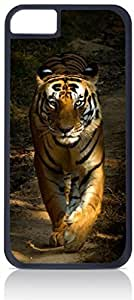 Royal Tiger Cub- Case for the Apple Iphone 6 Plus Only-Hard Black Plastic Outer Shell