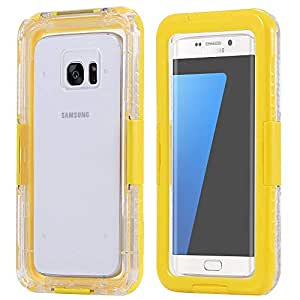 Underwater Waterproof Shock Dirtproof Clear Case Cover For Samsung Galaxy S4 Yellow