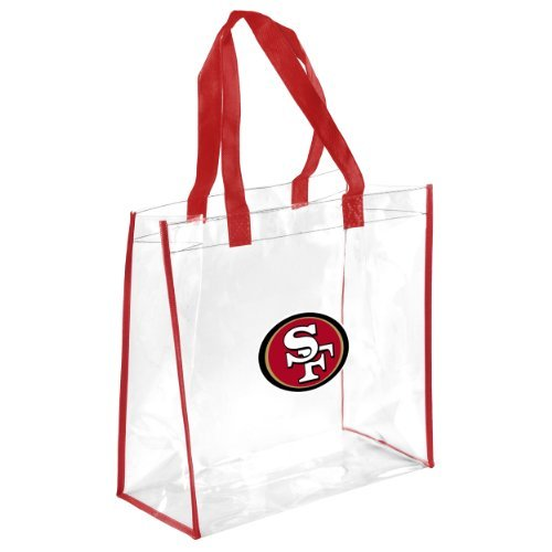 San Francisco 49ers Clear Reusable Bag by FOCO