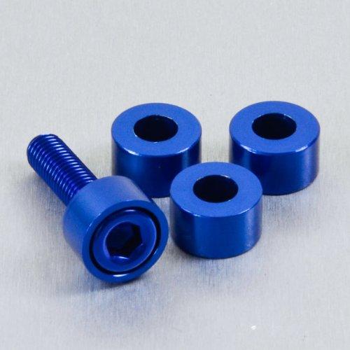 Aluminium Cup Washer M6 Blue