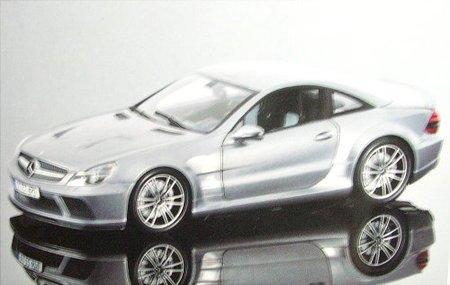 1/18 メルセデスベンツ SL65 AMG Black Series 2009(グレイメタリック) 100038120