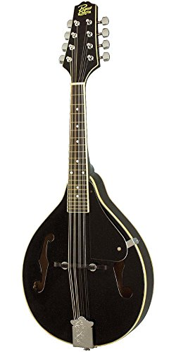 Rogue RM-100A A-Style Mandolin Black by Rogue