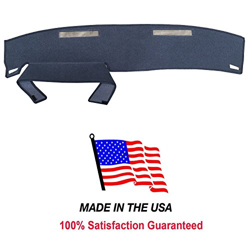 S10 Dash Cover - 1986-1993 Chevy S-10 Pick Up Carpet Dash Cover Mat Pad CH57 USA Made (BLUE)