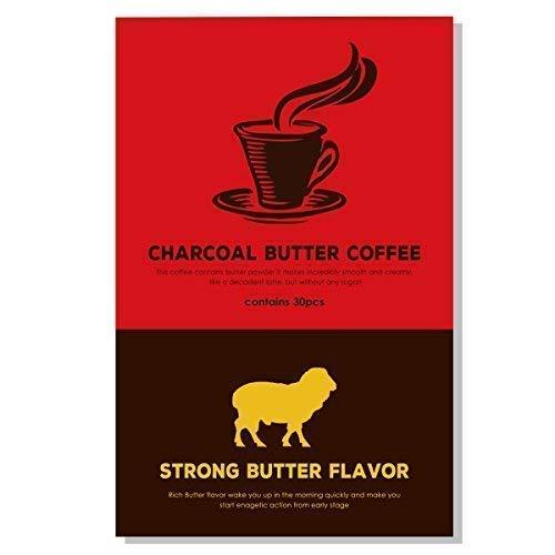 MCT 오일 배합 버터 커피 低糖質 39g (1.3g × 30 포) 로카보 다이어트