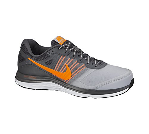 Nueva Dual Fusión X zapatillas de running Dark Grey/White/Total Orange