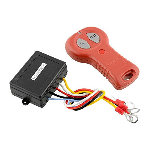 (Sedeta OEM Winch Electric Remote Control Set Kit For Car Truck Jeep ATV SUV DC 12V S150 Auto Accessories)