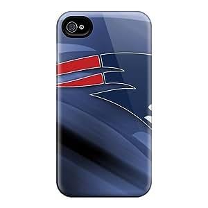 L.M.CASE Premium Protective Hard Case For Iphone 4/4s- Nice Design - New England Patriots by icecream design