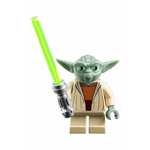 GRA Toys Yoda with Lightsaber Minifigure Building Blocks Sets Models Bricks Mini Figures Kid - Star Figure Wars Lego Yoda