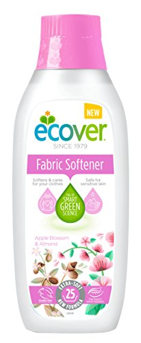 Ecover Apple Blossom and Almond Fragrance Fabric Softener, 750 ml