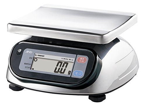 A & D Dust-proof and Waterproof Digital Scales Sl-1000wp by A&D