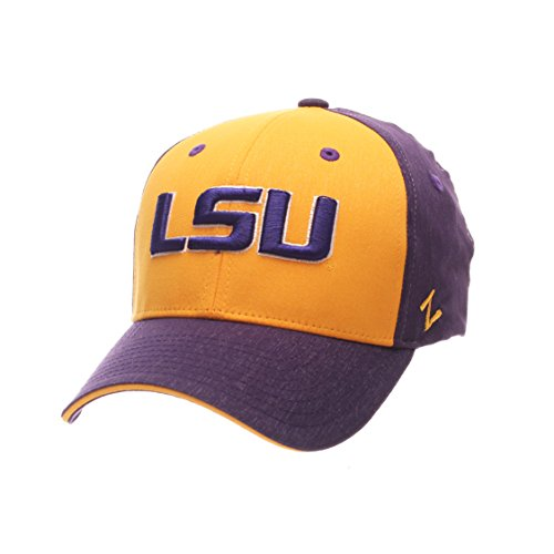 (ZHATS NCAA LSU Tigers Boys Challenger Cap, Youth, Heathered Team Color)