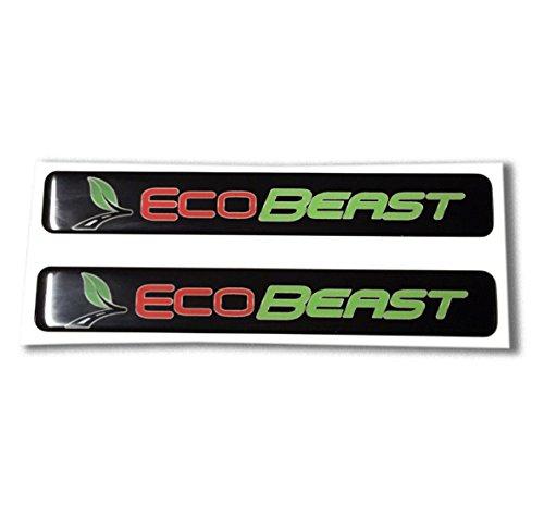Domed FORD ECOBEAST emblem ecoboost eco boost turbo Car Sticker 3D 6