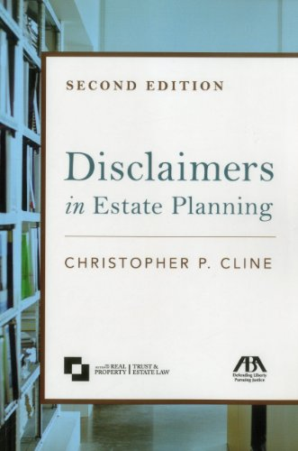 Disclaimers in Estate Planning