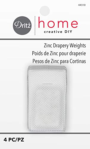 Dritz Notions DRI44310 Drapery Weights Zinc