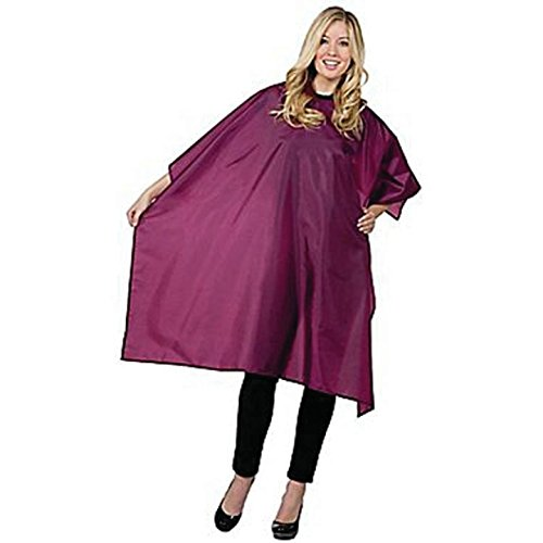 Betty Dain Whisper Styling Cape Snap Closure, Burgundy by Betty Dain