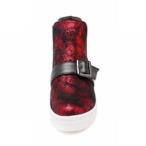 Stivaletti Da Donna Con Cinturino Alla Caviglia Per Donna Latasca Claret-red