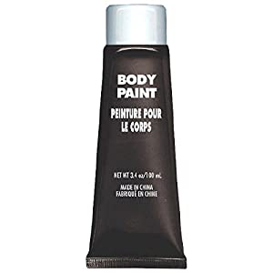 Party Perfect Team Spirit Body Paint Accessory, Black, Non-Toxic, 3.4 Ounces